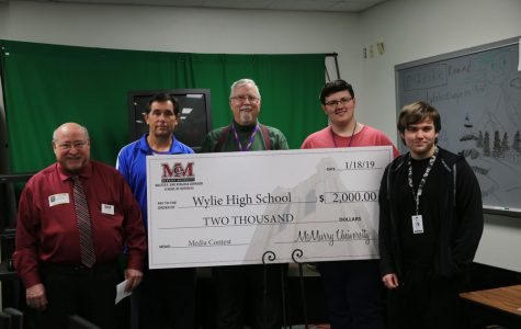 Wylie AV Class Receives Grant