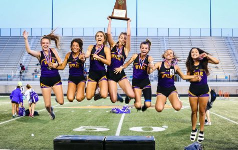 Wylie Girls win District 4-5A track title; Wylie Boys take third finishing strong