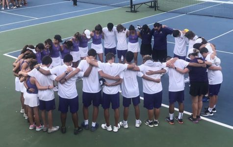 WHS Tennis Team Finishes Strong